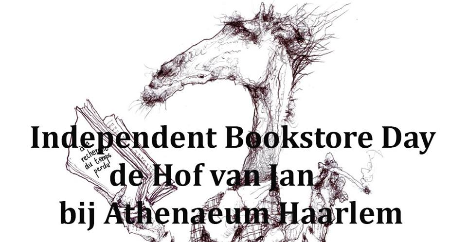Independent Bookstore Day in Haarlem met de Hof van Jan