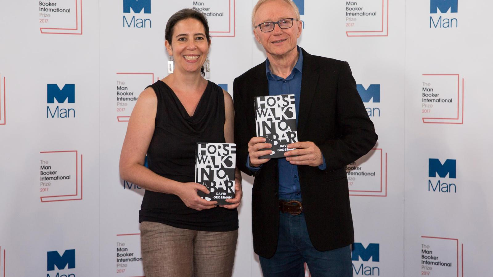 David Grossmann wint de Man Booker International Prize 2017