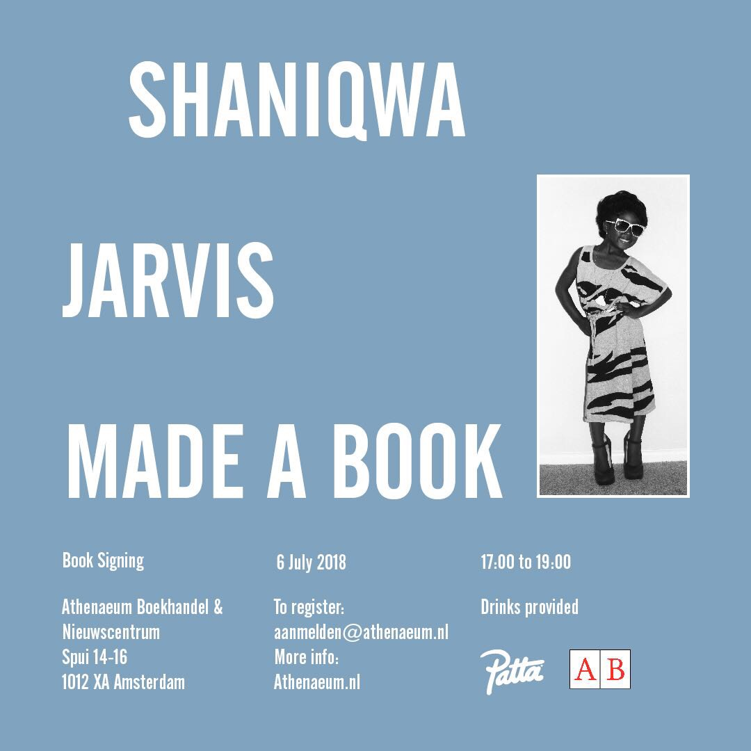 Shaniqwa Jarvis made a book