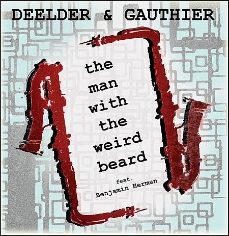 Artwork van Louis Gauthier bij Jules Deelders The Man With the Weird Beard, uit: Totaal Loss.